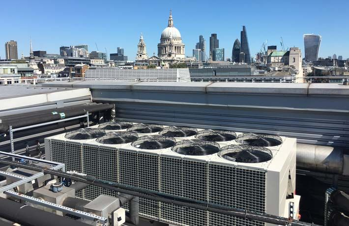 Chiller replacements London Hotel