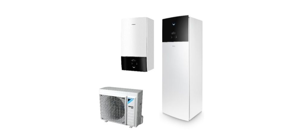 Daikin Altherma 3 floor-standing and wall mounted range of products